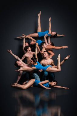 Dancers in stunning pose