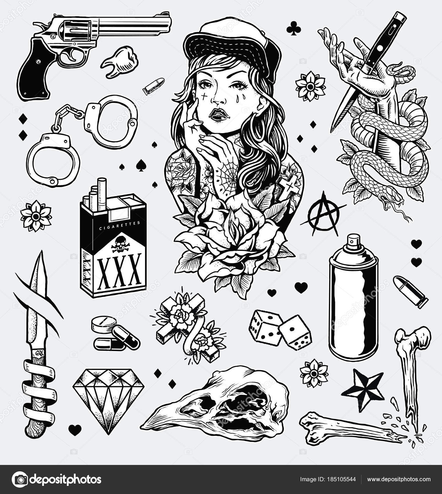 for Black and white tattoo artists
