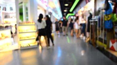 People walking at Union Shopping mall of Bangkok, Thailand on January , 2017. Bangkok Thailand