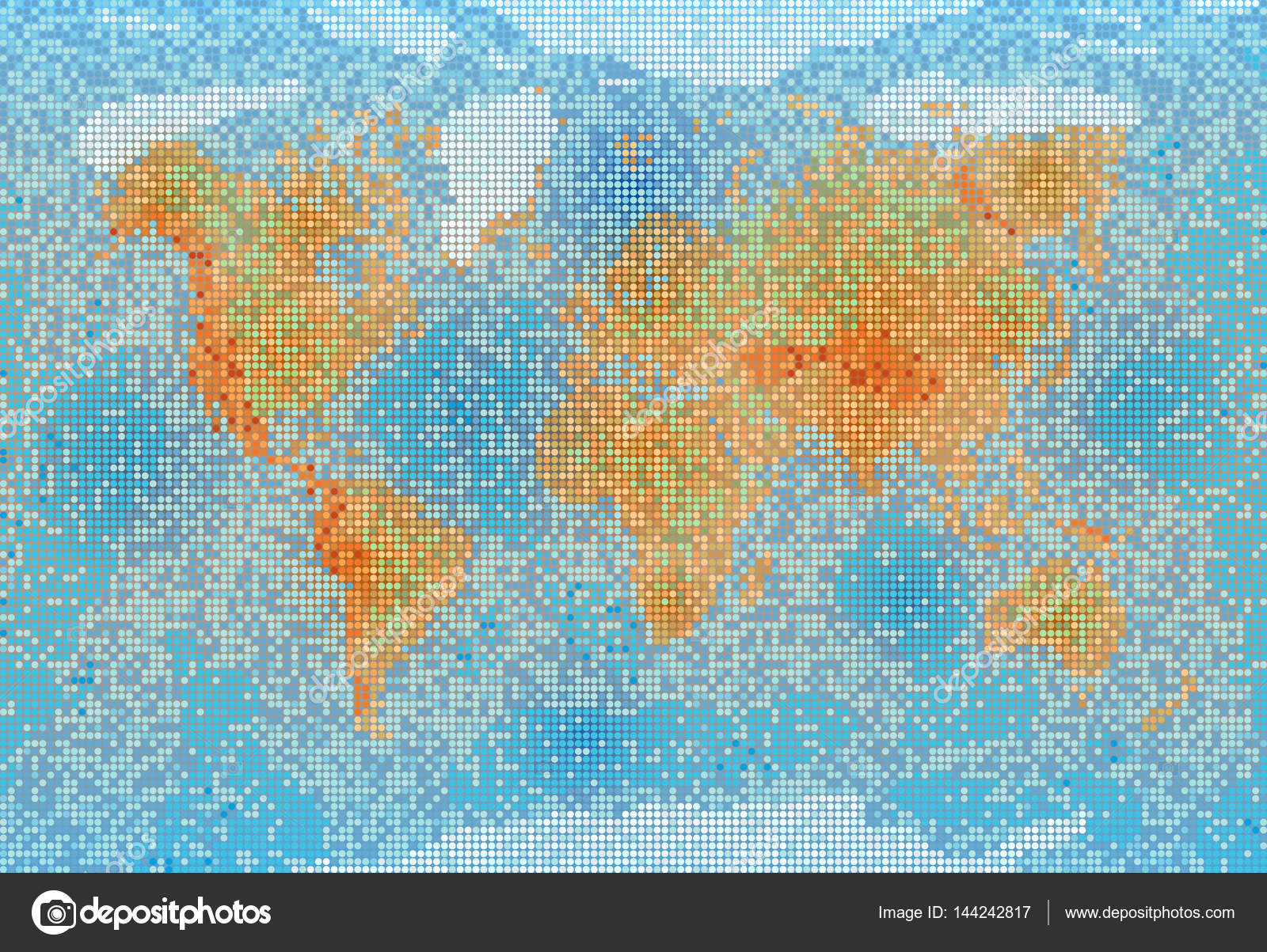 World map with relief depth and height stock vector sudok1 world map with relief depth and height stock vector gumiabroncs Choice Image