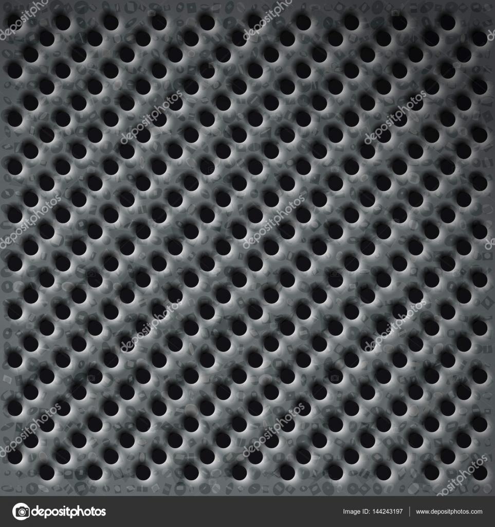 chapa perforada — Vector de stock © sudok1 #144243197