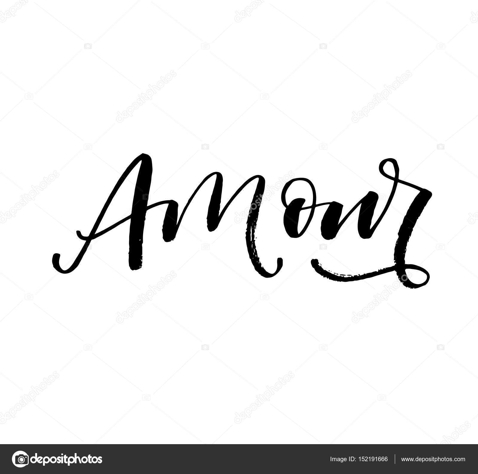 Imagens Damour Postal Dibujada De La Mano De Amour