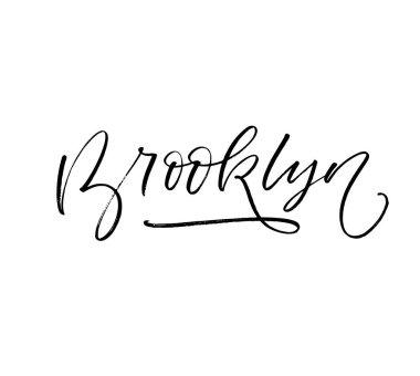Brooklyn card illustration