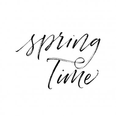 Spring time postcard.