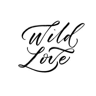 Wild love card.