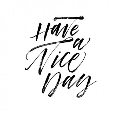 Have a nice day postcard.