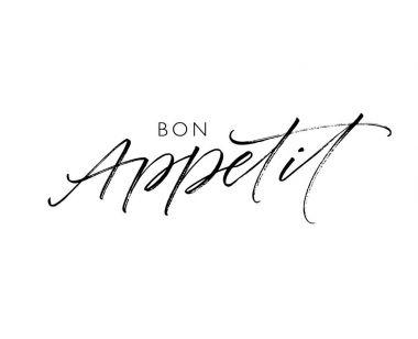 Bon Appetit postcard.
