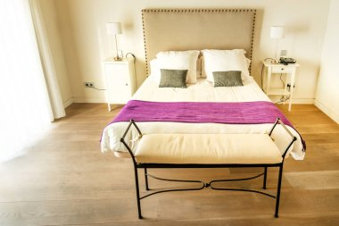 Double room in Spanish hotel