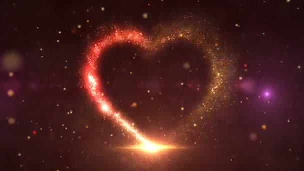 Teilchen Herz 4k