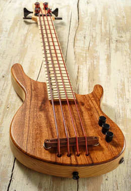 solid body micro bass guitar