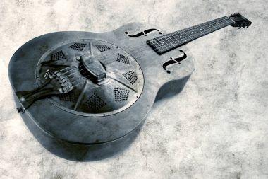 vintage mississippi blues guitar