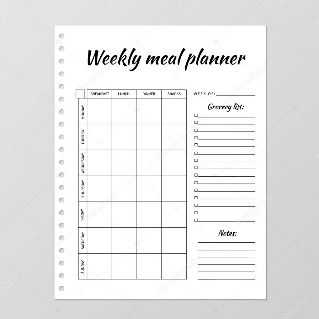 Diary Paper Template from st3.depositphotos.com