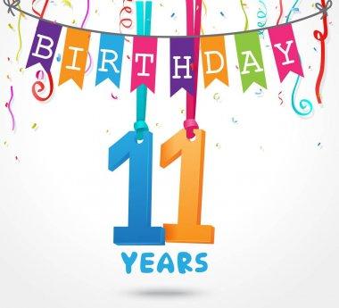 happy 11 birthday card