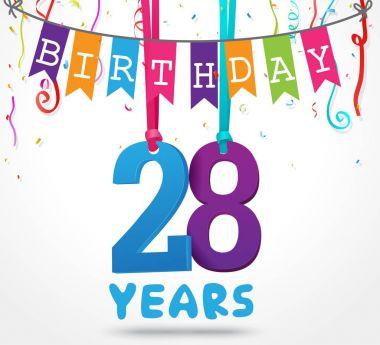happy 28 birthday card