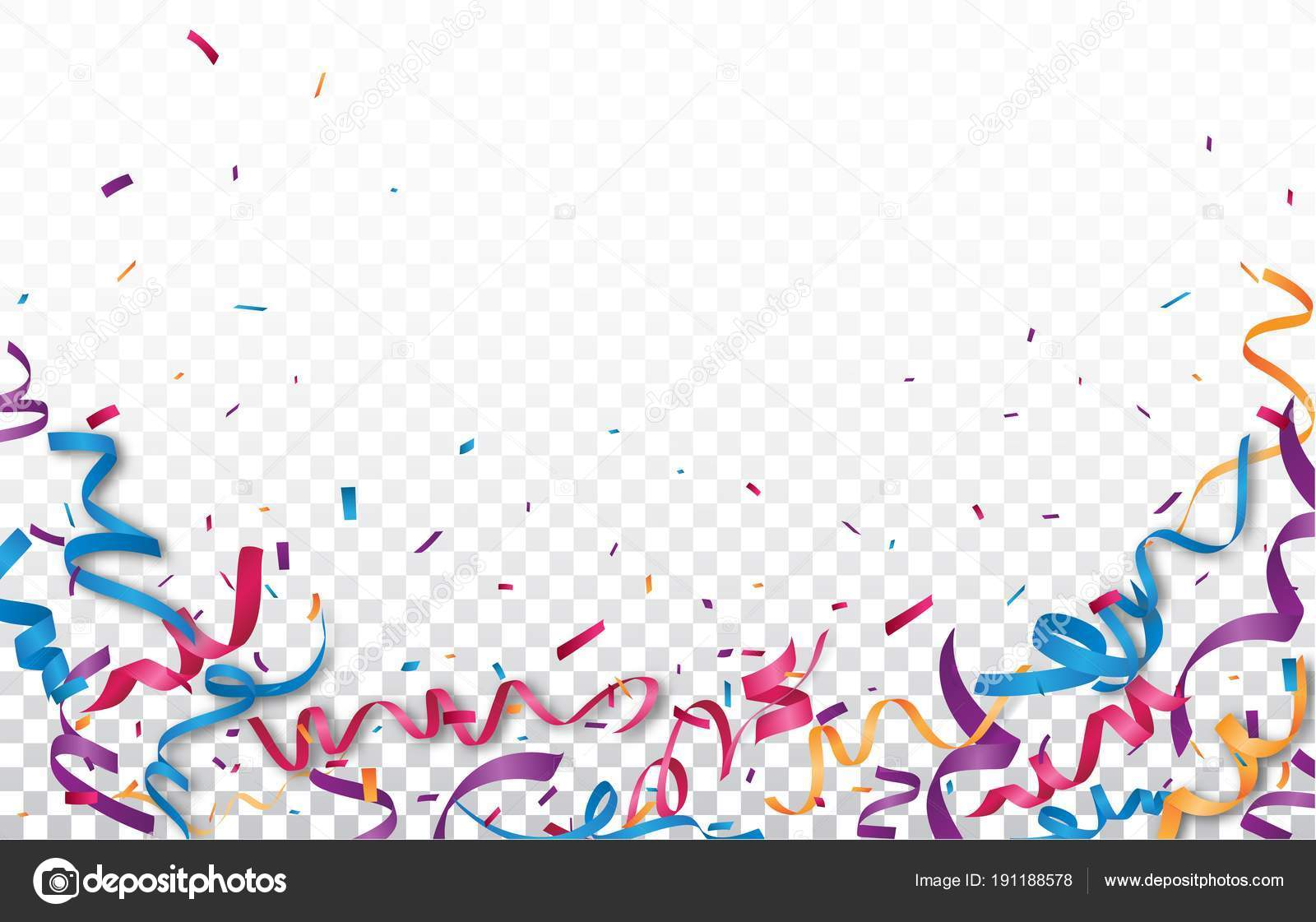 Colorful Vector Illustration Birthday Card Background
