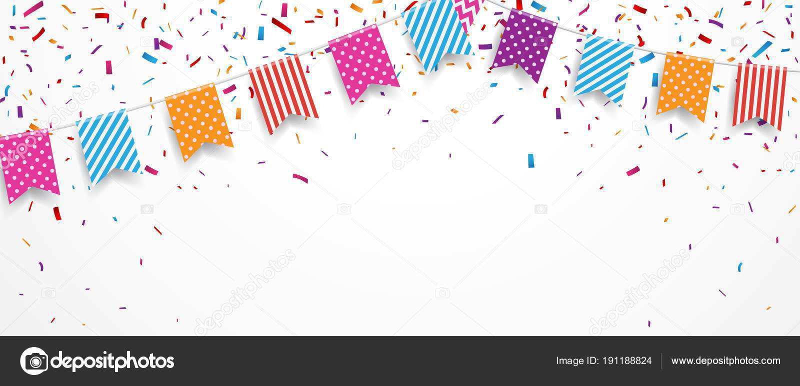 Fondo Marcos Cumpleaños Png Ilustración Vector Colorido Fondo