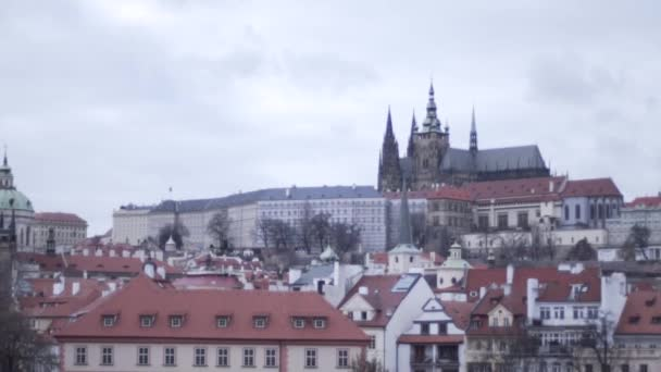 A nice place. The beautiful city of Prague. The Charles Bridge. Prague in the fall