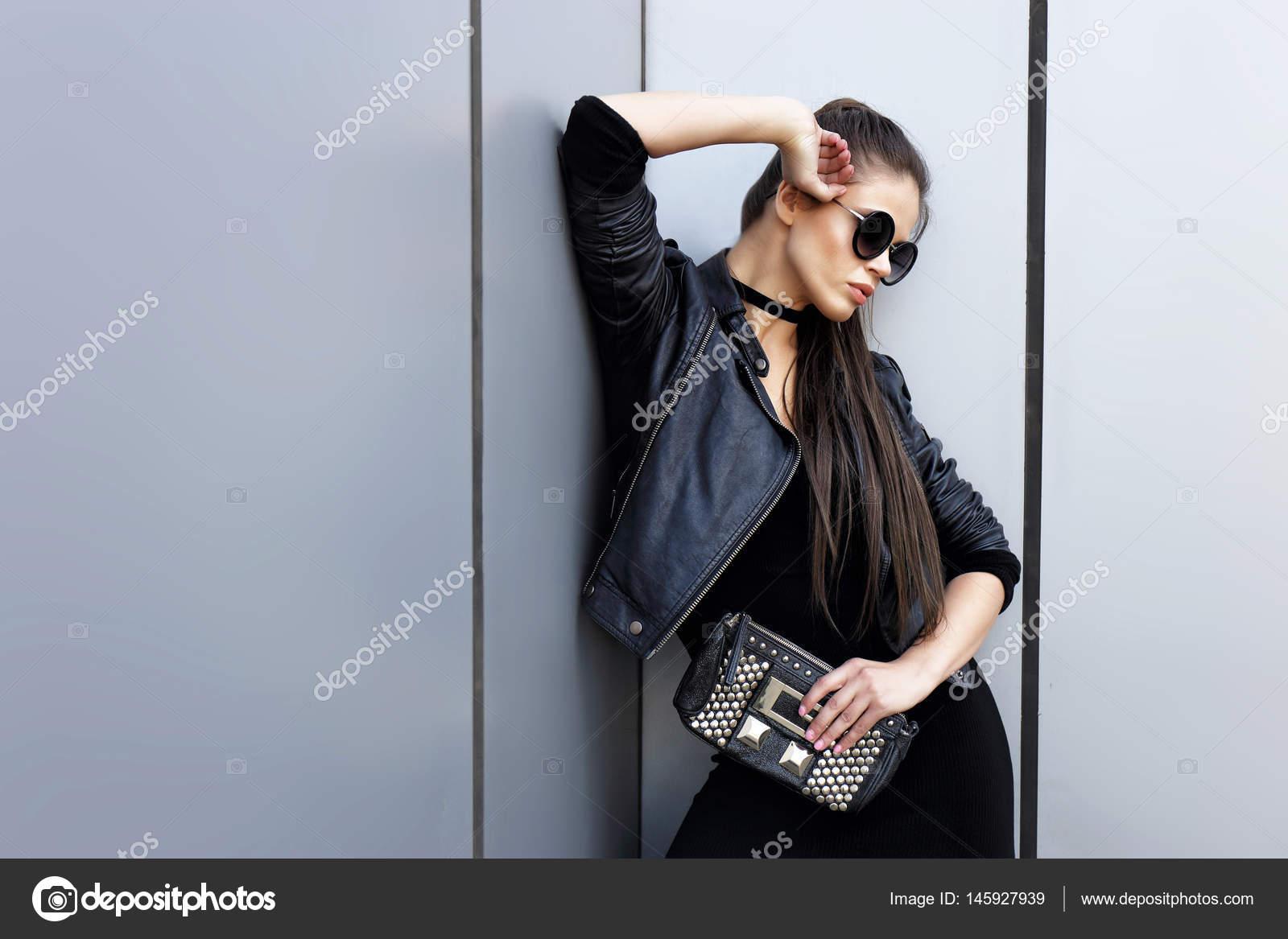 info for 5912a 6e889 giacca pelle donna in nera di 4qx0HZ