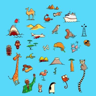 World Illustrations Set No. 5: Africa