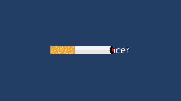 Cigaretta ad halálos rák - animáció
