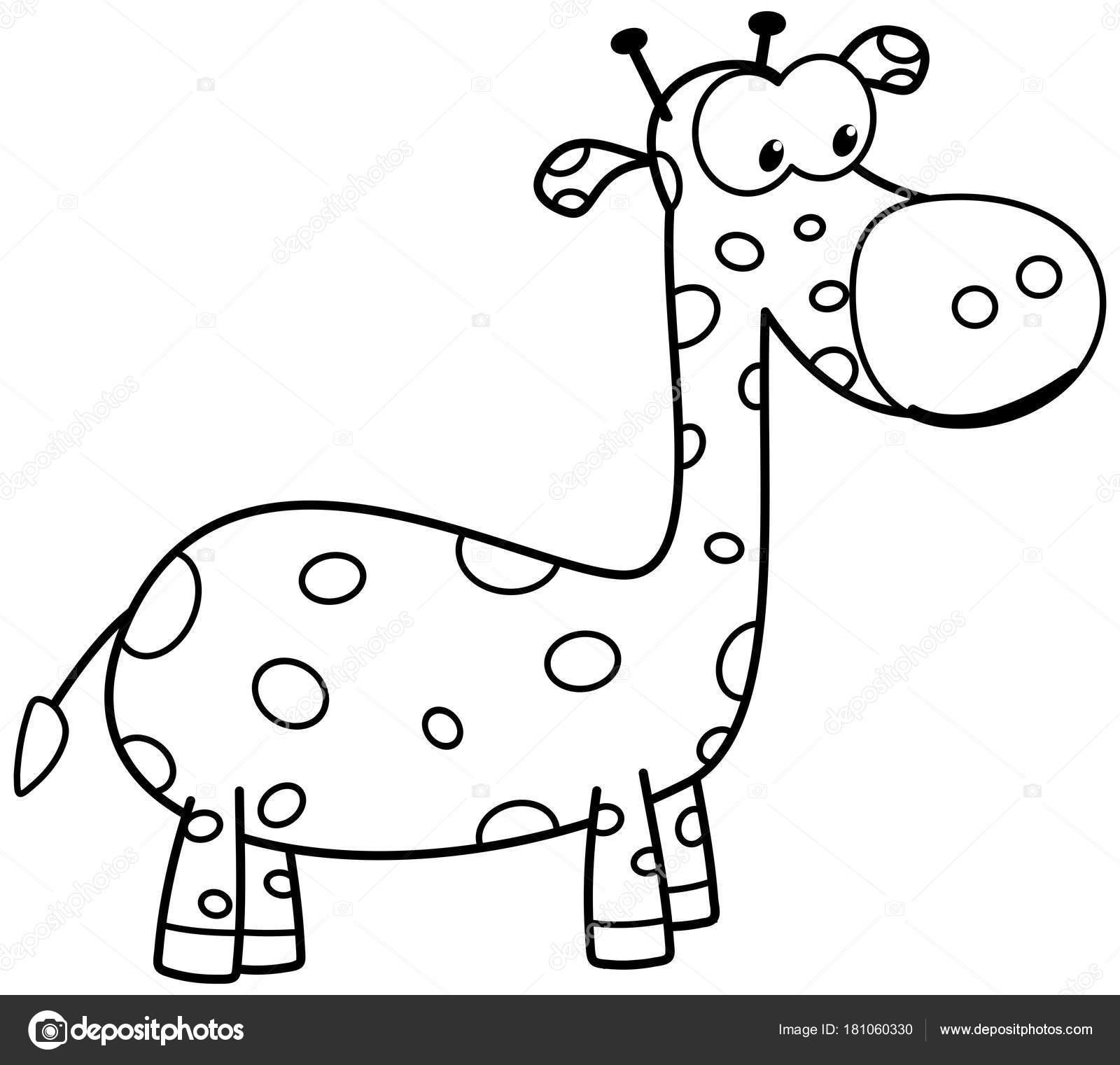 bilder zum ausmalen giraffe  kostenlos zum ausdrucken