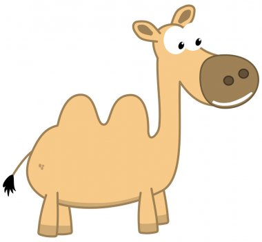 "Картина, постер, плакат, фотообои ""улыбающийся верблюд пустыни "", артикул 181060322"