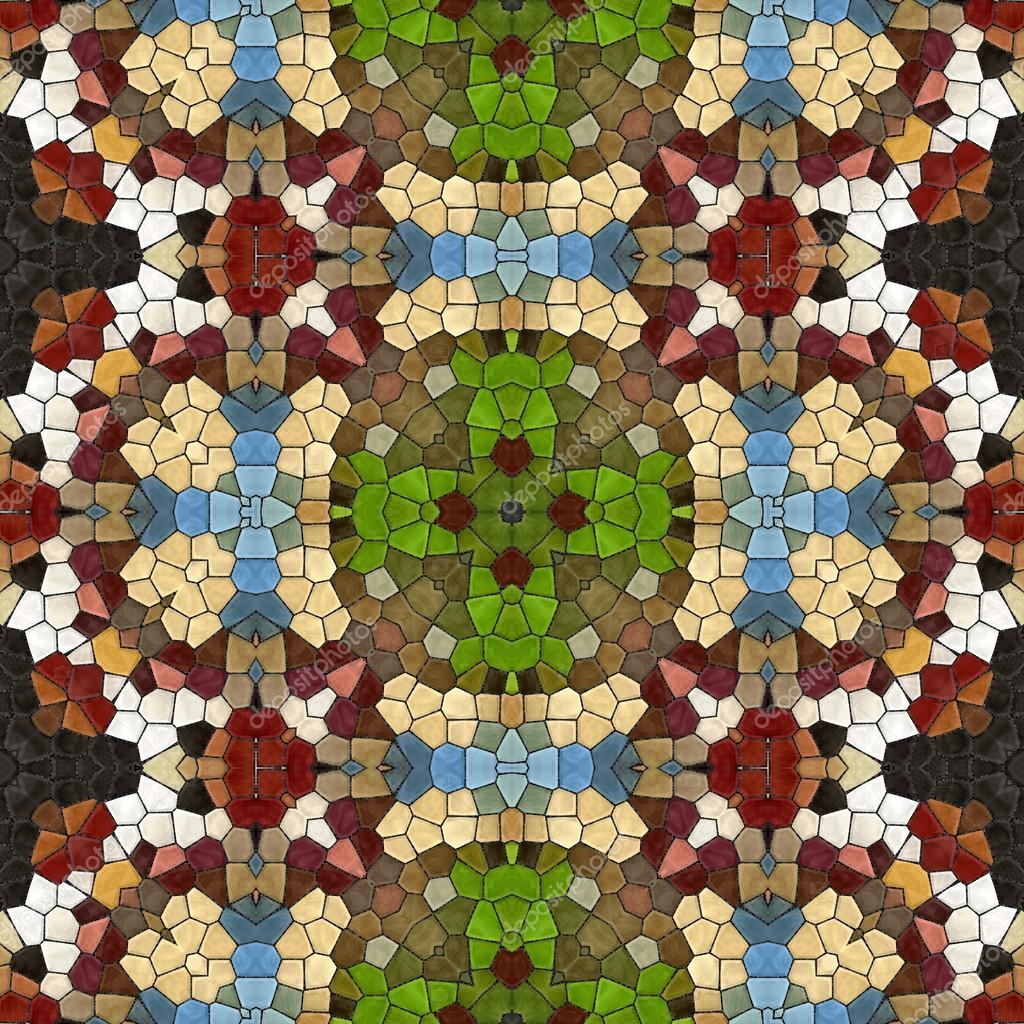 Textuur oosterse tapijten moza ek van glasscherven nieuwe naadloze structuur van abstracte - Oosterse tegels ...