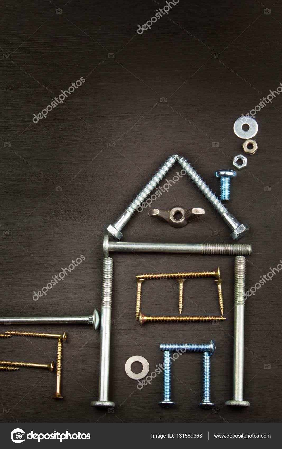 Wir bauen ein Haus für die Familie. Pläne, ein kleines Haus zu bauen ...