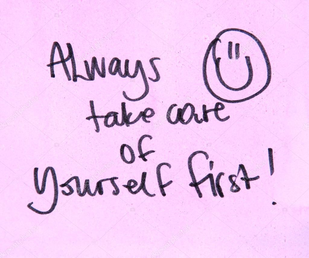 Images: always take care of yourself first | Always take