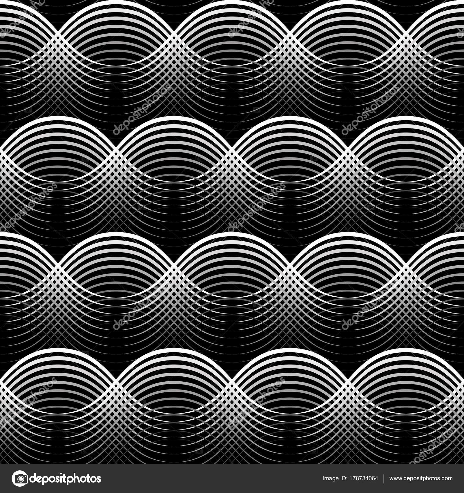 Simple Wallpaper High Resolution Geometric - depositphotos_178734064-stock-illustration-geometrical-seamless-pattern-black-waves  Perfect Image Reference_61971.jpg