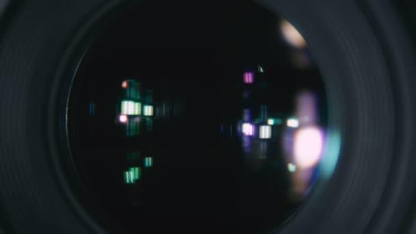 Fotografická kamera objektiv