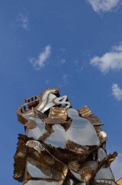 Santa Margherita del Belice, Sicily - statues