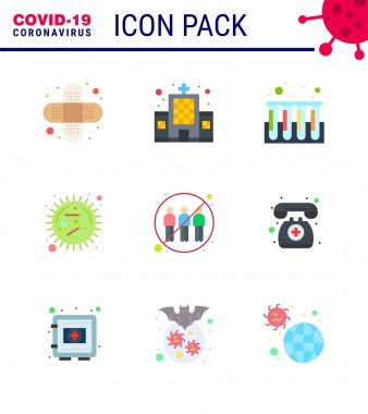 COVID19 corona virus contamination prevention. Blue icon 25 pack such as  engagement, virus, experiment, epidemic, bacteria viral coronavirus 2019-nov disease Vector Design Elements icon