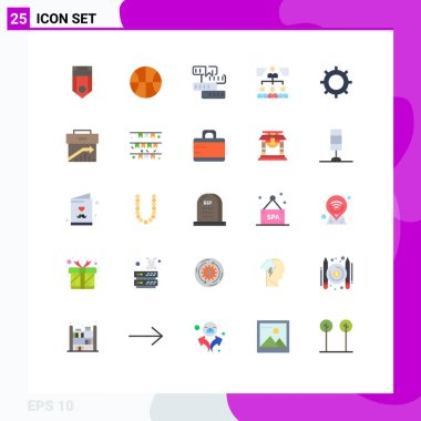 Stock Vector Icon Pack of 25 Line Signs and Symbols for group, teamwork, book, team, study Editable Vector Design Elements icon