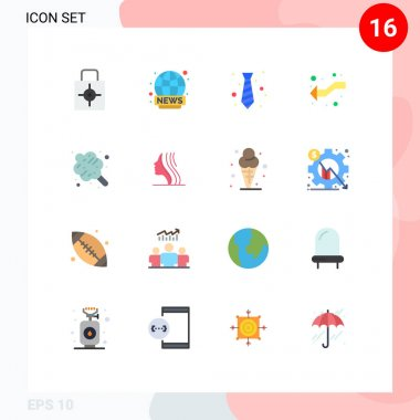 Stock Vector Icon Pack of 16 Line Signs and Symbols for left, intersect, news, arrows, fashion Editable Pack of Creative Vector Design Elements icon