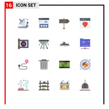 16 Creative Icons Modern Signs and Symbols of medical, healthcare, www, mac, app Editable Pack of Creative Vector Design Elements icon