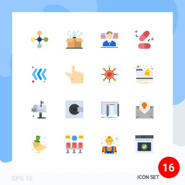 16 Creative Icons Modern Signs and Symbols of pinch, keyboard, american, arrow, tablets Editable Pack of Creative Vector Design Elements icon