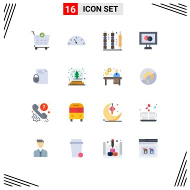 16 Creative Icons Modern Signs and Symbols of security, document, kebab, file, medicine Editable Pack of Creative Vector Design Elements icon