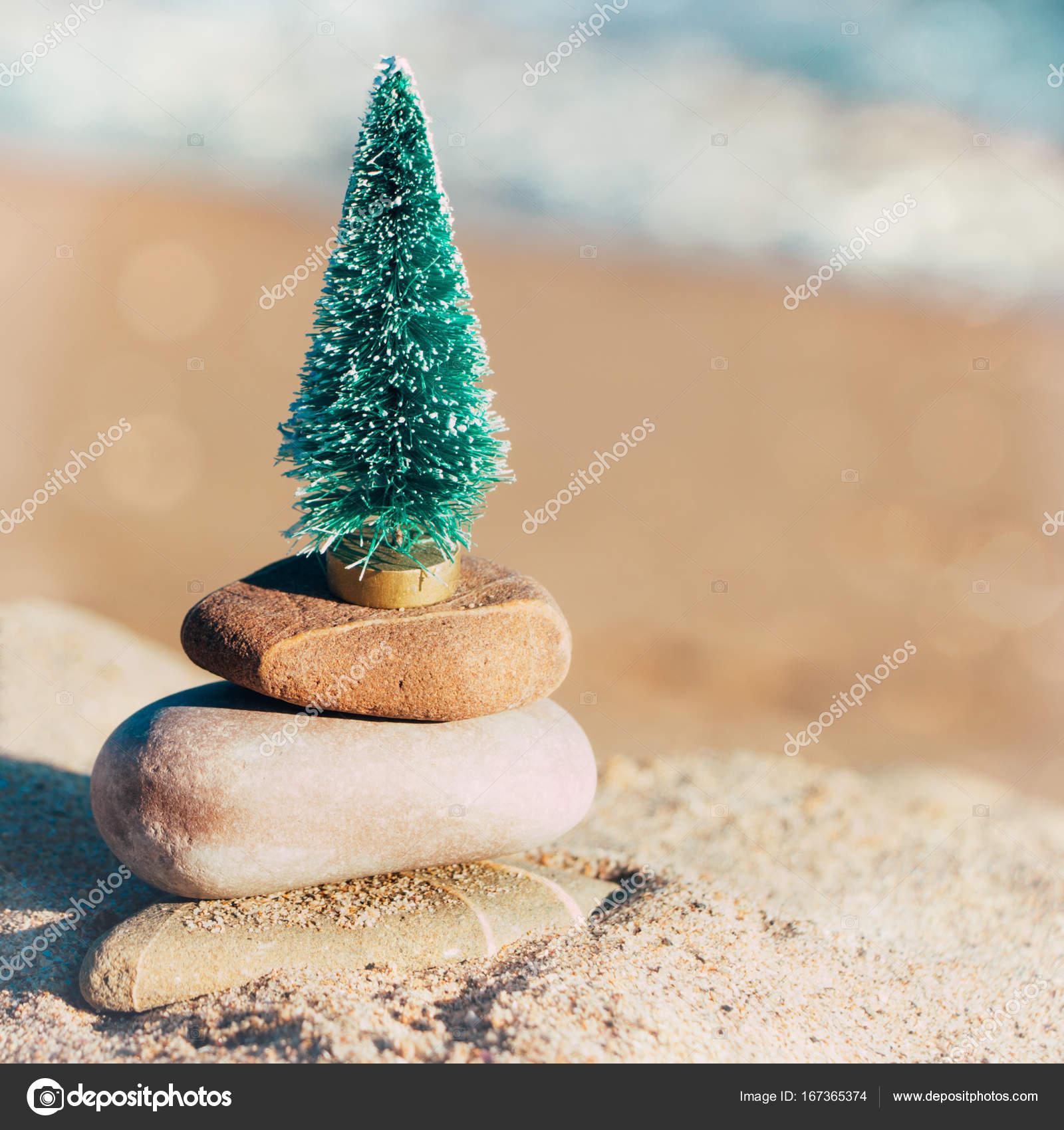 Immagini Natale Zen.Vacanze Di Natale Di Zen Sulla Spiaggia Foto Stock C Asife
