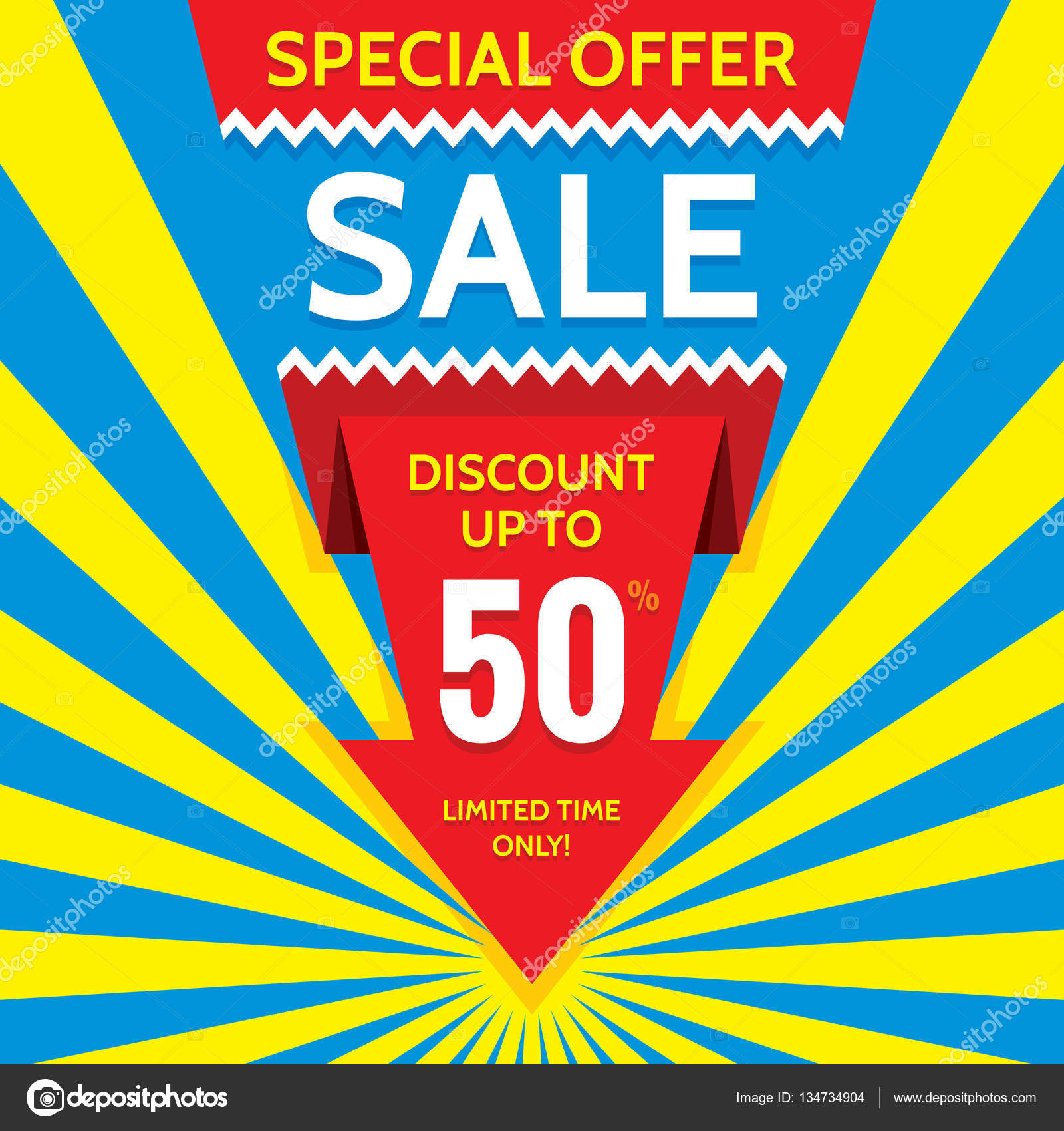 Sale vector banner design