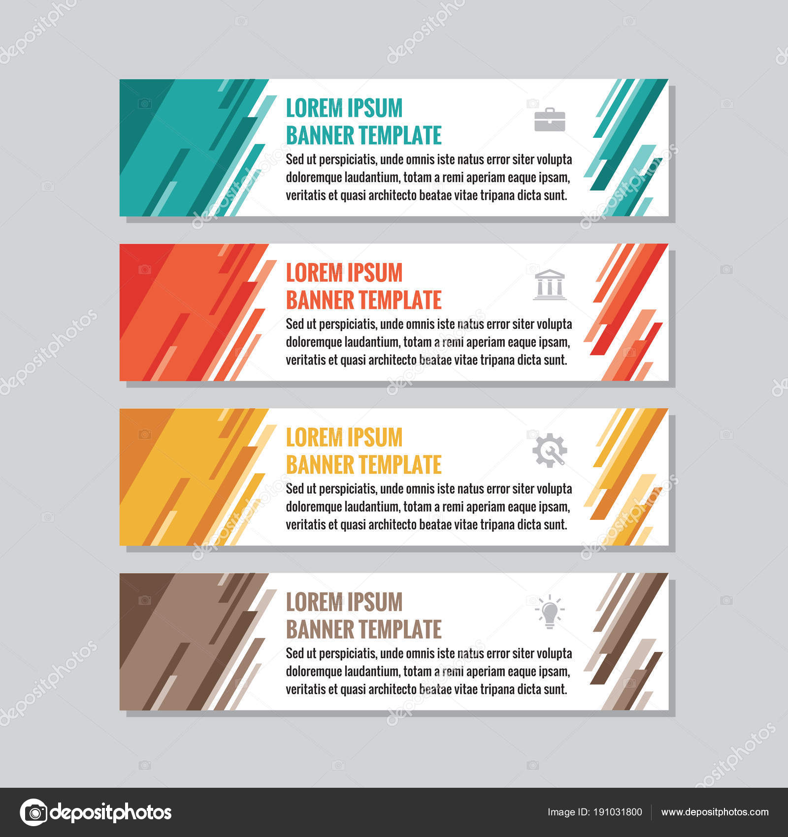 Business horizontal banner templates vector concept illustration business horizontal banner templates vector concept illustration abstract geometric background creative layout graphic design element wajeb Gallery