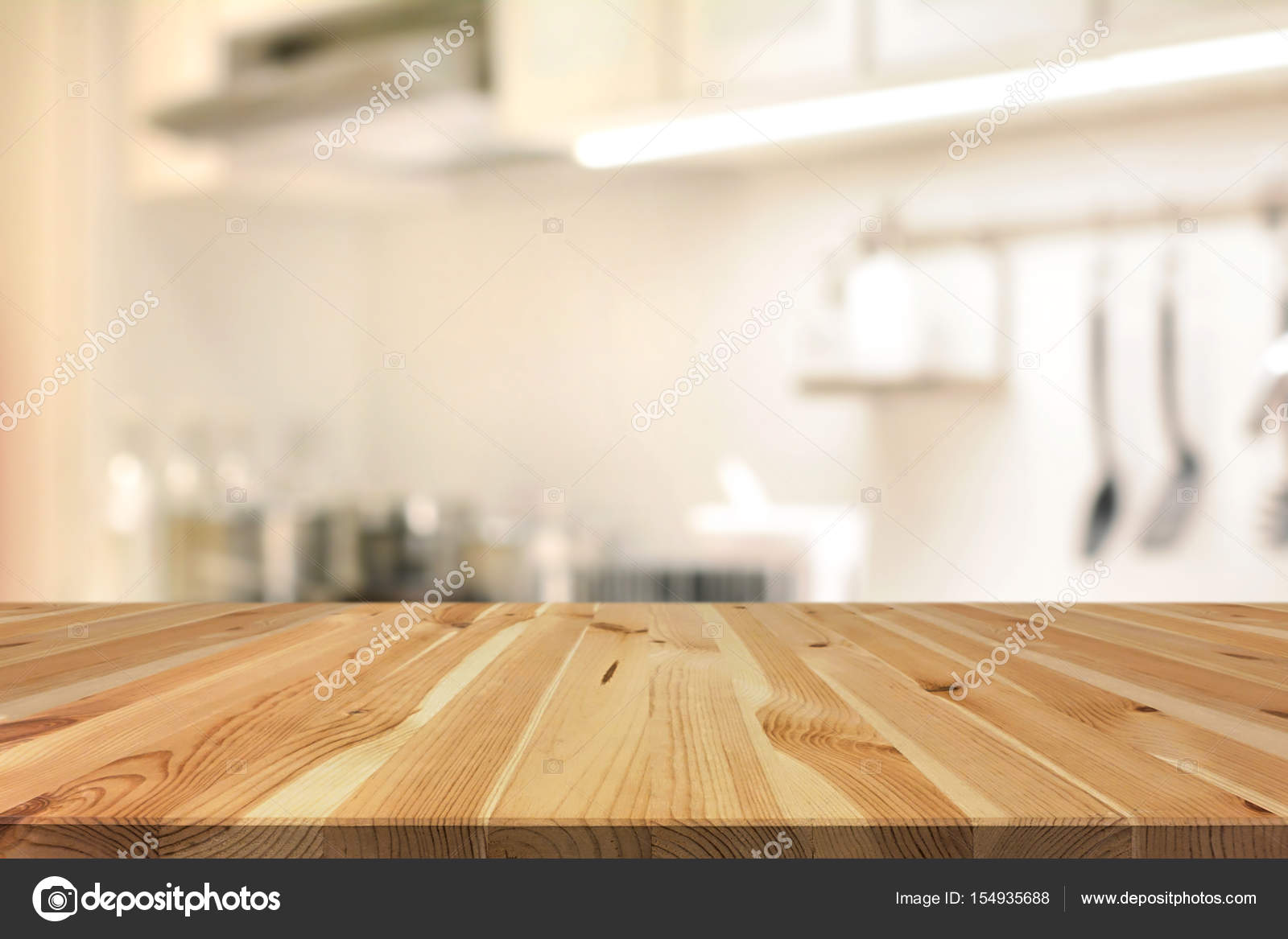 Kitchen Island Wallpaper