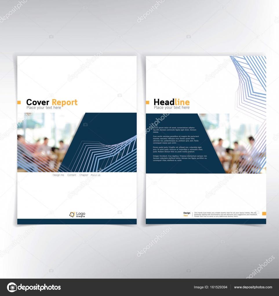 Deckblatt für moderne Unternehmen — Stockvektor © kritchanut #161529394
