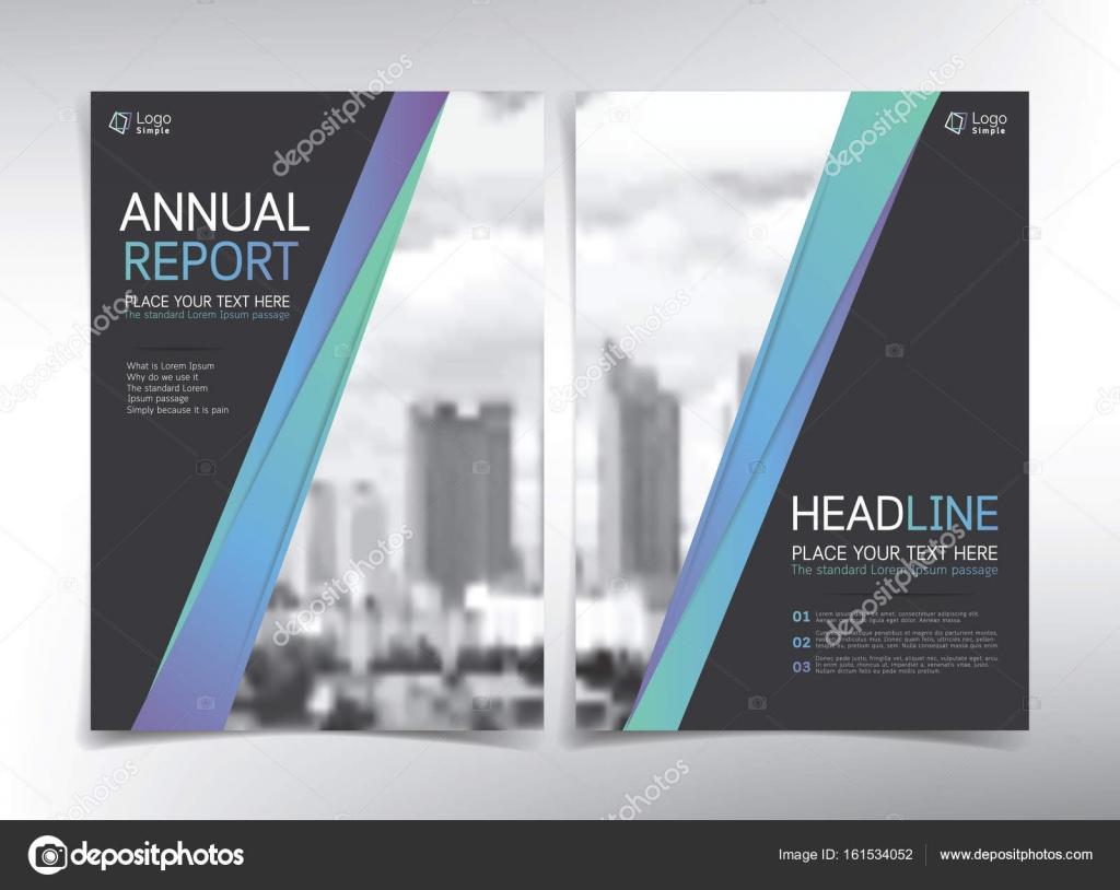 Moderne Business-Deckblatt, Vektor Vorlage, Immobilien-Konzept ...