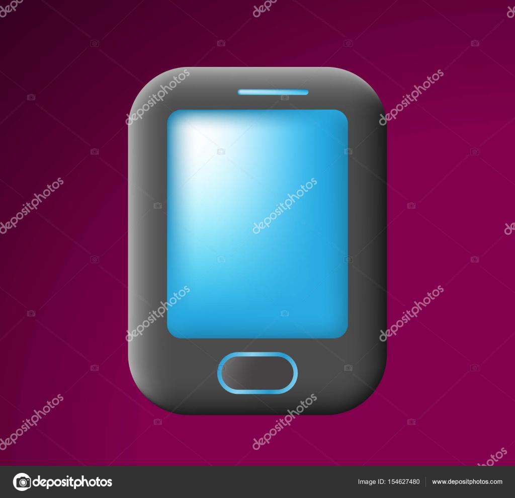 Vettore Sfondi Scuri Telefono Telefono Carino Su Sfondo Scuro