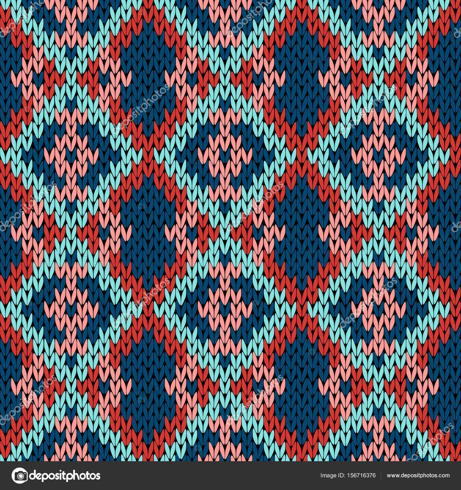 Tejer de patrones sin fisuras abigarrado — Vector de stock © natreal ...