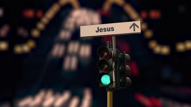 Utcai jel Jézushoz