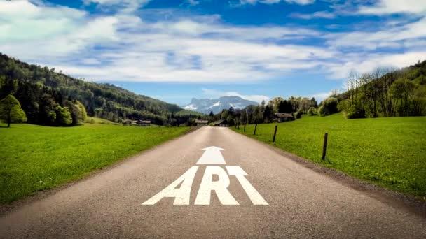 Ulice Podepište cestu k umění