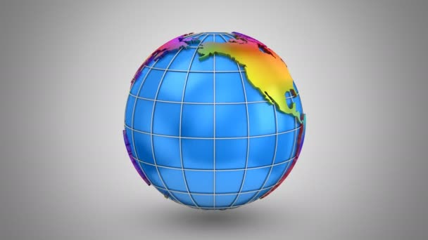World map turns into a globe stock video dragun 130092550 world map turns into a globe stock video gumiabroncs Choice Image