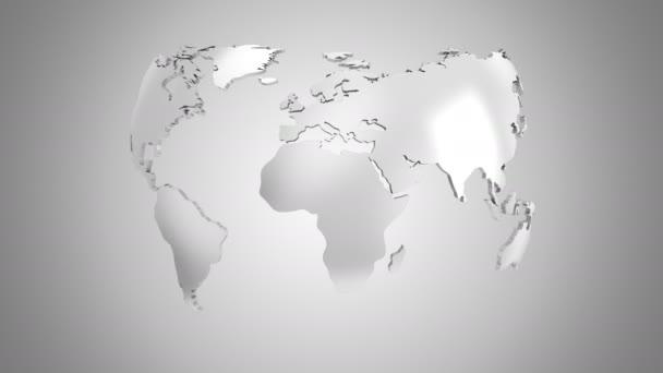 World Map menstruáció-ba egy földgömb